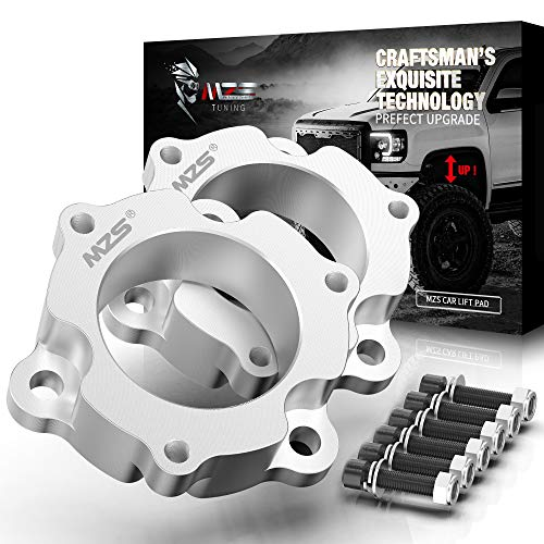 MZS Leveling Lift Kit 2.5' Front Suspension Strut Spacers Compatible with 2004-2015 Titan   2017-2021 Titan 2WD 4WD ( NOT fit 2016 models )