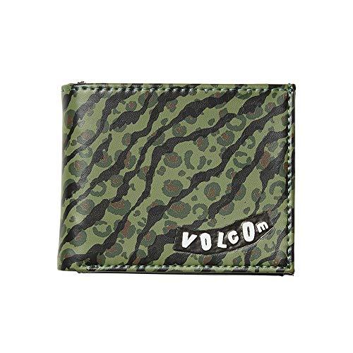 Volcom Empty PU Wallet Monedero, Hombre, Camouflage, O/S