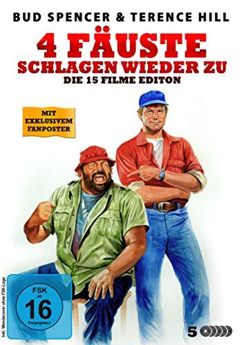 Bud Spencer & Terence Hill - 4 Fäuste schlagen wieder zu! (15 Filme Edition) [5 DVDs]