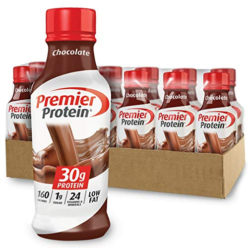Premier Protein 30g Protein Shake, Chocolate, 14 Fl Oz (Pack of 12) bottle