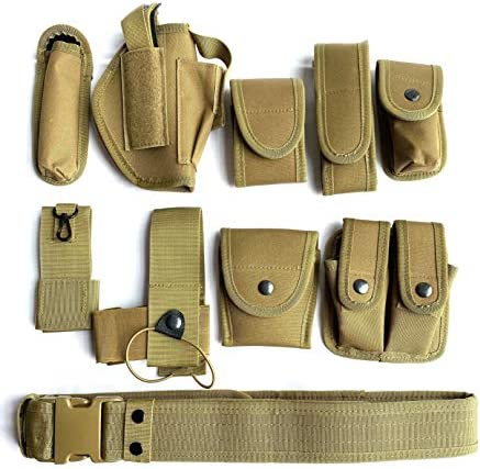 Khaki Law Enforcement Modular Equipment System Security Military Tactical Duty Utility Belt product image