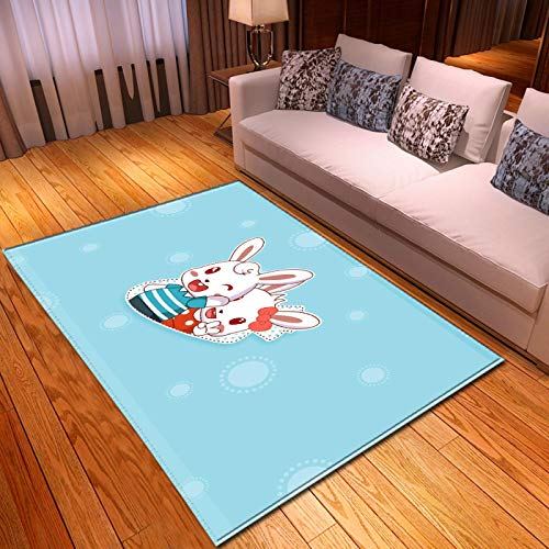 LGXINGLIyidian Casa Alfombra Patrón De Arte De Dibujos Animados De Anime Clásico Alfombra Suave Antideslizante De Decoración del Hogar De Impresión 3D T-470K 140X200Cm