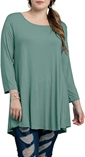 Best ladies green tunic tops Reviews