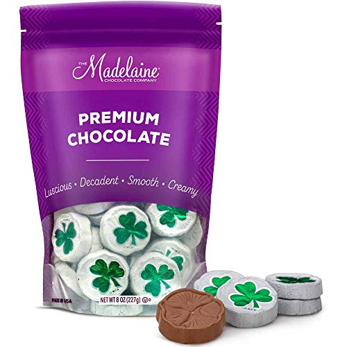 Milk Chocolate Shamrocks Wrapped