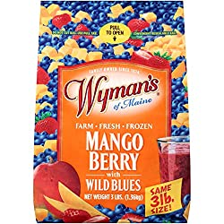 Wyman's of Maine Mango Berry with Wild Blues, 3lbs (frozen)