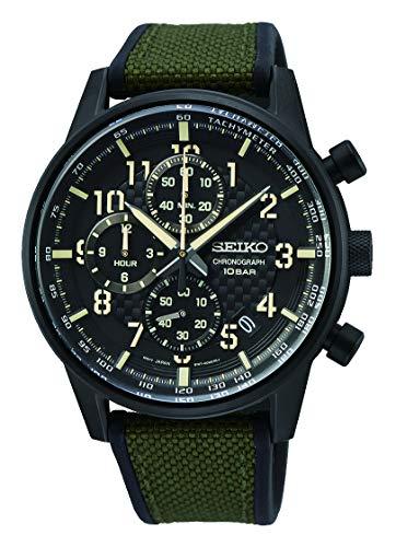 Reloj Seiko Caballero Con Cronografo Ssb373P1