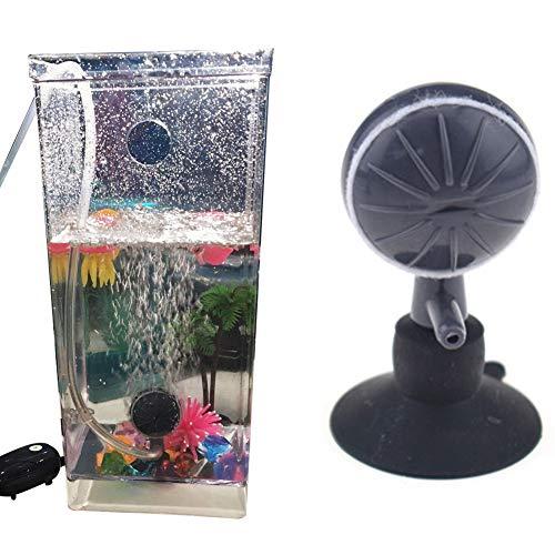 Absir 2Pcs Mute Oxygen Pump Air Stone for Aquarium Fish Bowl Accessaries