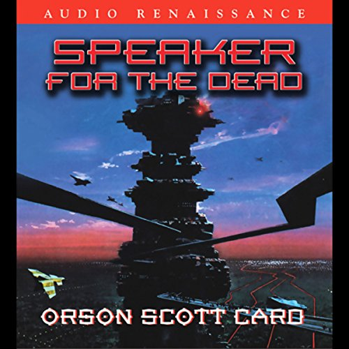 Speaker for the Dead                   By:                                                                                                                                 Orson Scott Card                               Narrated by:                                                                                                                                 David Birney,                                                                                        Stefan Rudnicki                      Length: 14 hrs and 8 mins     16,547 ratings     Overall 4.5