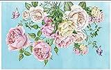 Carta Da Parati 3D Fotomurale Parete Del Fondo Del Salone Della Farfalla Del Fiore Di Arte Carta Da Parati Moderna Muro Poster Murales 400x280cm