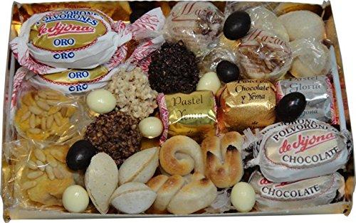 Bandeja surtida mazapanes,turrones,chocolates artesanos 1k. Turrones Candela Espi