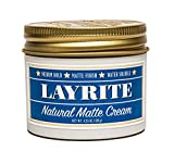 Layrite Natural Matte Cream Basic Mild Cream Soda 4.25 Ounce
