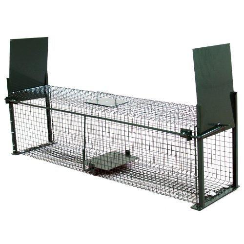 Moorland Safe 5007 - Trampa para Animales Vivos - Martas, Gatos Zorros - 100x25x25cm...