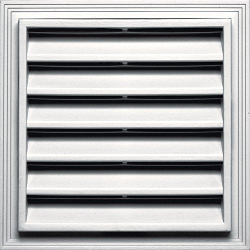 Builders Edge 120051212117 Vent, Bright White