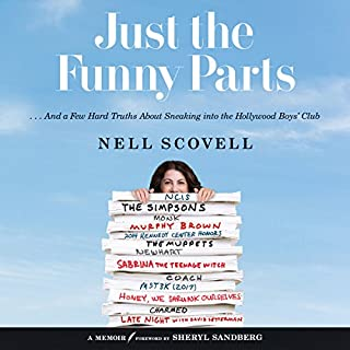 Just the Funny Parts audiobook cover art
