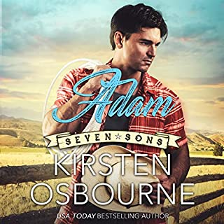 Adam     Seven Sons, Book 1              By:                                                                                                                                 Kirsten Osbourne                               Narrated by:                                                                                                                                 Miranda West                      Length: 2 hrs and 22 mins     3 ratings     Overall 5.0