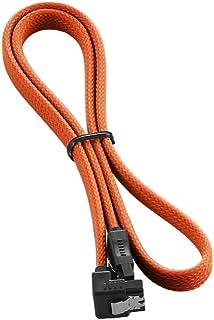 CableMod ModMesh Right Angle SATA 3 Cable 60cm - Orange