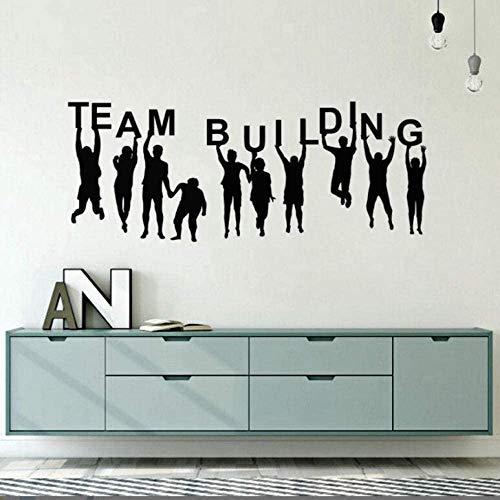 Kantoordecoratie, bouwuitrusting Cita Tattoos, vinyl, teambuilding, muurstickers, muurkunst, 57 x 146 cm