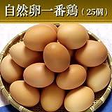 水郷のとりやさん 鶏卵 平飼い 放し飼い自然卵 『一番鶏』 25個詰(20個+破損保障分5……