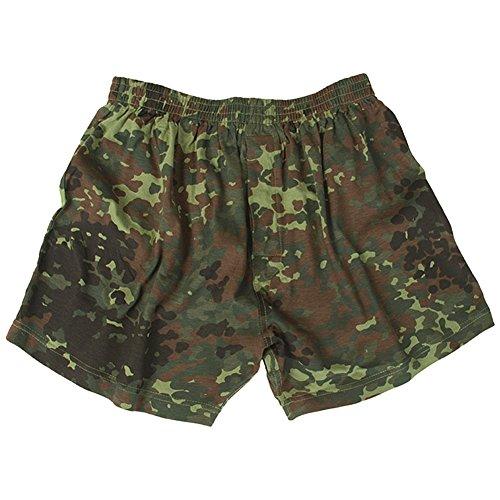 Mil-Tec Boxer Shorts Flecktarn Größe L