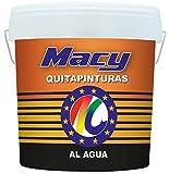 Decapante Gel. MACY QUITAPINTURAS AL AGUA -4 Litros- Eliminador de todo tipo de pinturas de base agua: plasticas, gotelet antiguo etc etc- ENVIO GRATIS 24/48 H (DIAS LABORABLES)