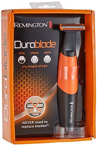 Remington Durablade MB010 - Afeitadora y recortadora (100% impermeable, ergonómica, con cable USB)