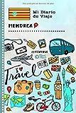 Menorca Mi Diario de Viaje: Libro de Registro de Viajes Guiado Infantil - Cuaderno de Recuerdos de Actividades en Vacaciones para Escribir, Dibujar, Afirmaciones de Gratitud para Niños y Niñas