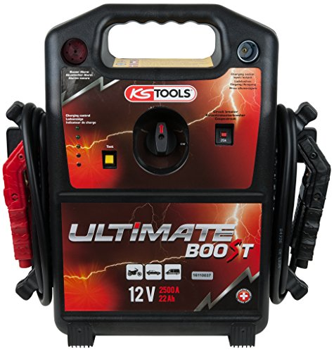 KS Tools 550.1810 Booster met accu, 12 V, 2500 A