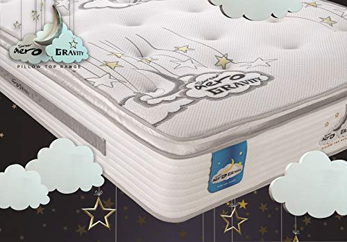 Sareer Latex Open Coil Mattress Hypoallergenic Made in UK (Small Double)