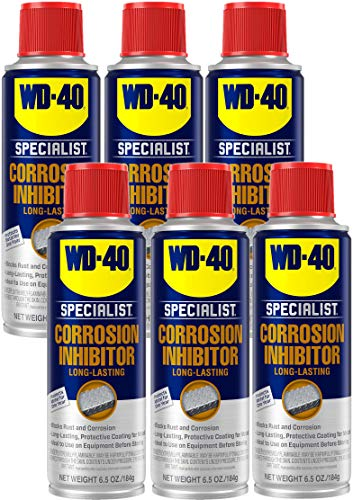 WD-40 - 300035 Specialist Long-Term Corrosion Inhibitor, 6.5 OZ [6-Pack]