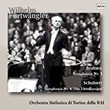 ブラームス : 交響曲 第1番 | シューベルト : 交響曲 第8番 「未完成」 (Brahms : Symphonie Nr.1 | Schubert : Symphonie Nr.8 ''Die Unvollendete'' / Wilhelm Furtwangler | Orchestra Sinfonica di Torino della RAI) [CD] [日本語帯・解説付]