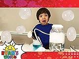 Ryan's Bouncy Dry Ice Bubbles!