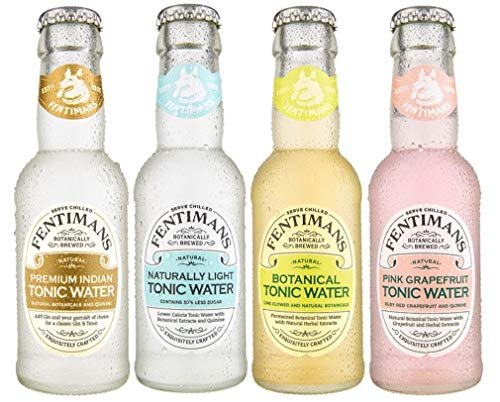 Fentimans Mixed Case of 24 Tonic Water (24 x 125ml) - Premium Indian, Refreshingly Light, Botanical & Pink Grapefruit - 3