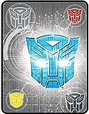 Transformers Steel Heroes Plush Throw Blanket - 46' by 60'