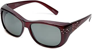 016d1c7485 Haven Fitover Sunglasses Victoria in Wine Crystal   Polarized Grey Lens