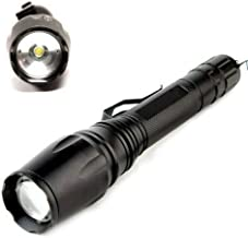 5 Mode Super Bright Police Tactical Flashlight T6 LED Camping Torch Light Come with 2X Batterires