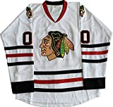 Clark Griswold #00 X-Mas Christmas Vacation Movie Hockey Jersey White (White, XX-Large)