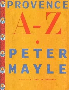 Paperback Provence A-Z Book