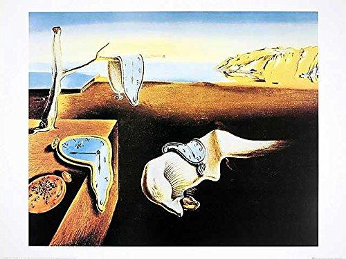 Germanposters Salvador Dali The Persistence of Memory (Uhren) Poster Kunstdruck Bild 60x80cm
