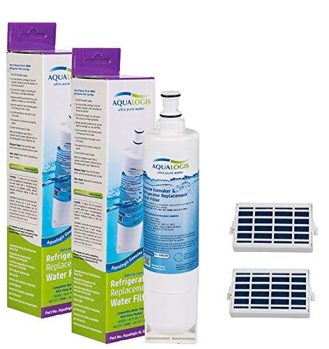 2x Aqualogis Compatible Cartucho de filtro de agua para neve