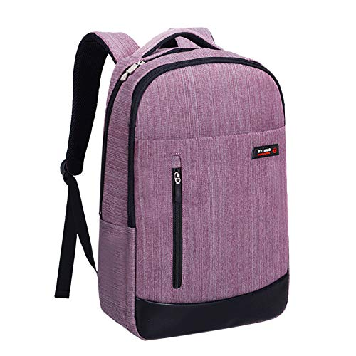 Backpack Women's Laptop 15.6-inch, Waterproof Computer Backpack, with USB Port, Girl School Bag, College Travel Business menCan be Installed 14 inches -17 inches
