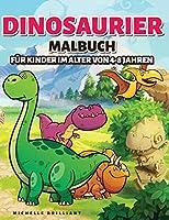 Dinosaurier Malbuch fuer Kinder im alter von 4-8 Jahren: 50 Bilder von Dinosauriern, die Kinder unterhalten und sie in kreative und entspannende Aktivitaeten einbeziehen, um die Jurazeit zu entdecken
