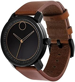 Movado Bold Black Dial Men's Watch 3600489 WeeklyReviewer