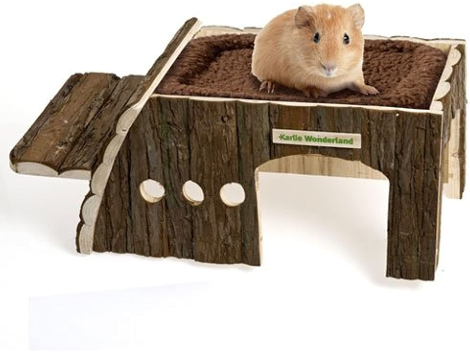 Karlie Rodent House Emil, house, hut, cave for Small Animals