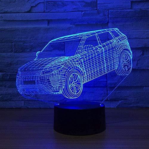 3D Night Lamp Night Light Acrylic Haulage Motorcycle USB Car Styling Boy Room Creative Toy K1009_