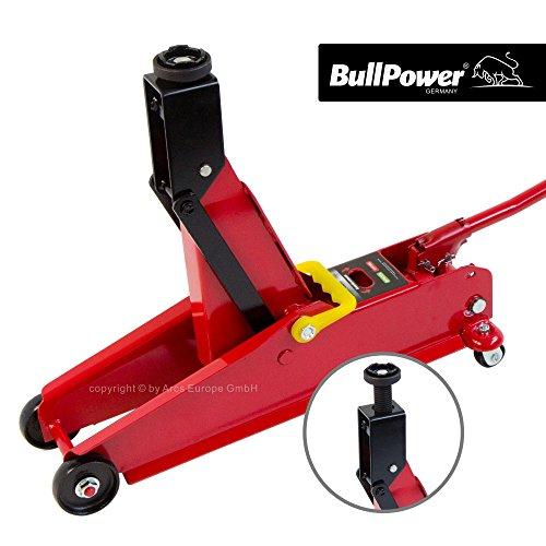 BullPower BP630A Wagenheber für Geländewagen, SUV, Jeep - 192-532mm - 3T - 3000kg