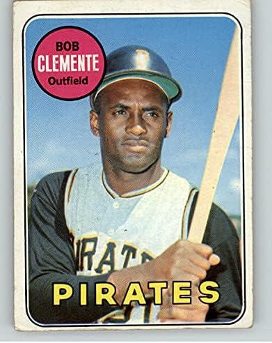 1969 Topps #50 Philadelphia Mall Roberto Clemente Pirates Kit Card Young supreme 403168 VG