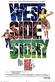 West Side Story POSTER Film (27 x 40 inch - 69 cm x 102 cm) (1968)