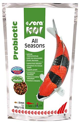 SERA Koi All Seasons Probiotic Nourriture pour Aquariophilie 500 g