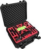 """mc-cases Valise Professionnelle """"Fly More Combo"""" pour Le DJI Spark avec Beaucoup d'espace pour Un Total de 6 Batteries et des Nombreux Accessoires - by"""
