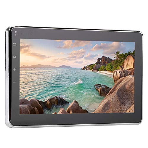 Cryfokt Bluetooth Mp5 Stereo Player, USB Marine 7-Zoll-LCD-Multimedia-Player Wasserdicht füR Boot, Auto, Badezimmer, UnterstüTzung Mp5, Mp4, Mp3, Rmvb, Rm, Avi, Dvix, Vob